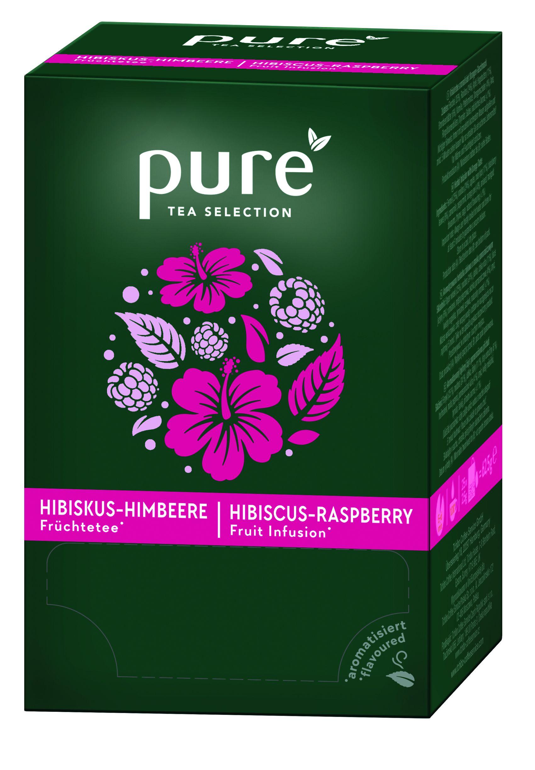 Pure Tea Selection zmeura hibiscus cutie 25 plicuri