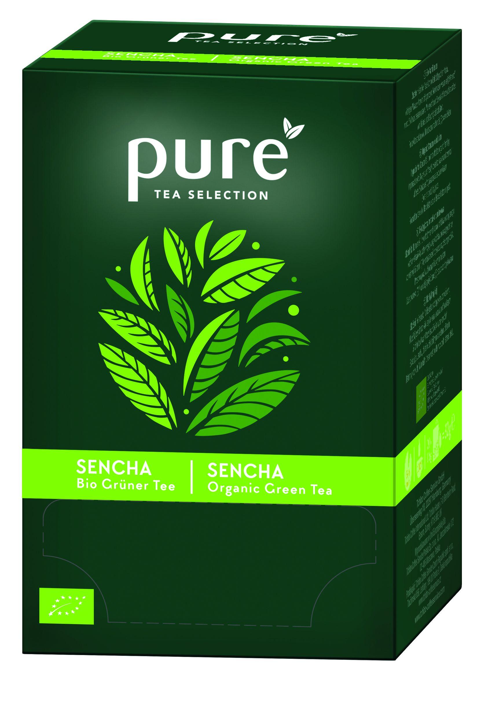 Pure Tea Selection sencha bio cutie 25 plicuri