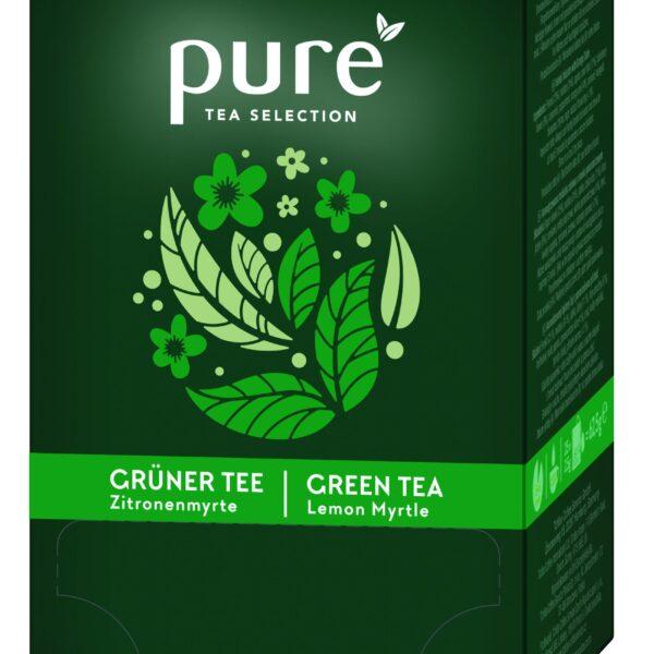 Pure Tea Selection verde cu lamaie cutie 25 plicuri